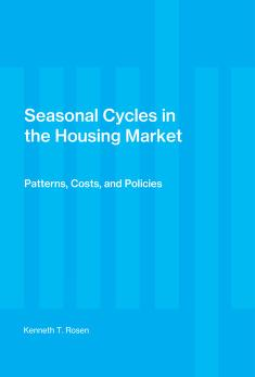 Cover of: Seasonal cycles in the housing market | Kenneth T. Rosen